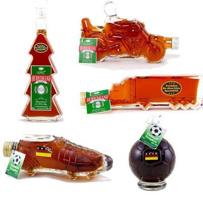 Heidebrand Sonderform-Glasflaschen