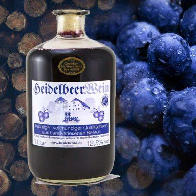 Heidelbeerwein aus der Dübener Heide